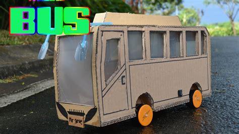 membuat prakarya mobil dari kardus cara membuat mainan mobil mobilan dari karet gelang