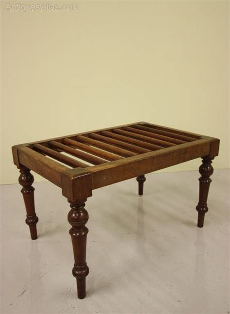 luggage racks for bedrooms 19th century antique mahogany luggage rack antiques atlas