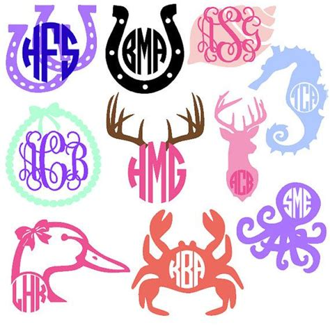 monogram ideas 699 best vinyl and monogramming ideas images on pinterest