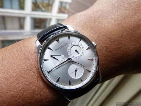 Jeager Lecoultre Master Ultra Thin Reserve De Marche insider jaeger lecoultre master ultra thin r 233 serve de marche on with an classic
