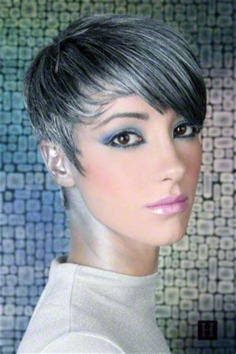 salt and pepper short hair style 17 best ideas about short gray hair on pinterest going