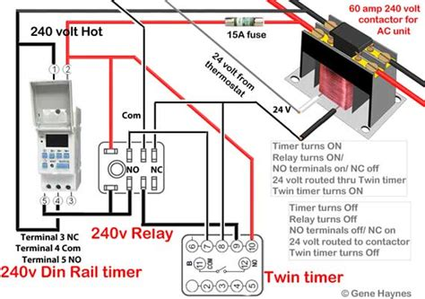 contactor wiring diagram ac unit images wiring diagram