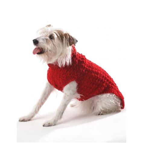 free easy knitting patterns for dog coats uk crochet a christmas sweater hat collar or scarf for your