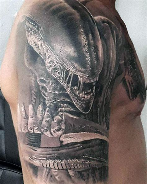 alien movie tattoo designs 70 designs for extraterrestrial ink ideas