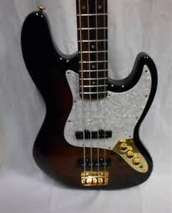 sx custom handmade vintage series 4 string bass guitar
