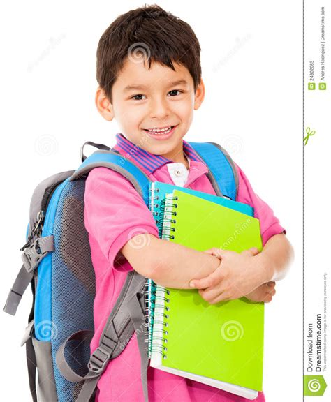 Student And Elementary School Student Stock Image Image Of Lifestyle