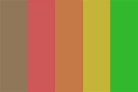 70s color palette the 70s color palette