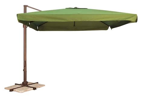 Factory Direct Patio Umbrellas by 10 Square Portofino Offset Umbrella