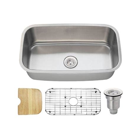 shallow kitchen sink megabai bai 1247 27 quot shallow
