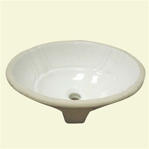 decorative sinks bathroom decorative undermount biscuit lavatory with overflow
