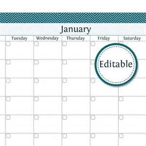 12 month editable calendar new calendar template site