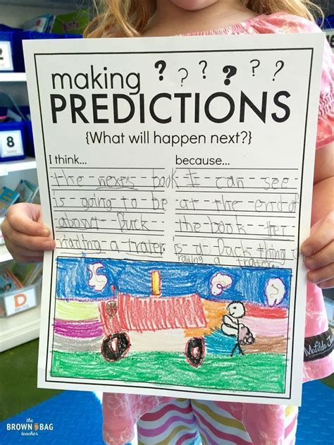 picture books for predictions 17 best ideas about prediction anchor chart on