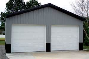 2 door garage gallery of post frame buildings and pole barns