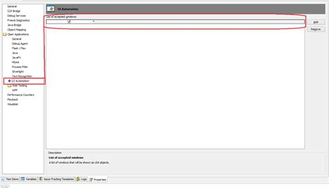 java swing objects solved unable to recognize child objects of java swing ap