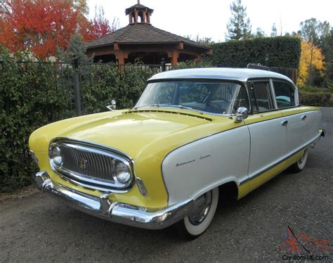 1955 nash statesman custom classic cruiser automotive