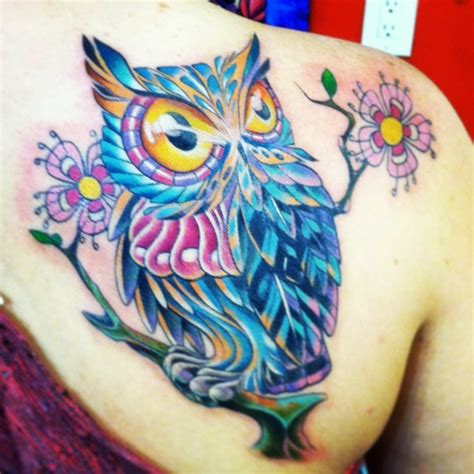 owl tattoos for girls owl cover up i absolutely this