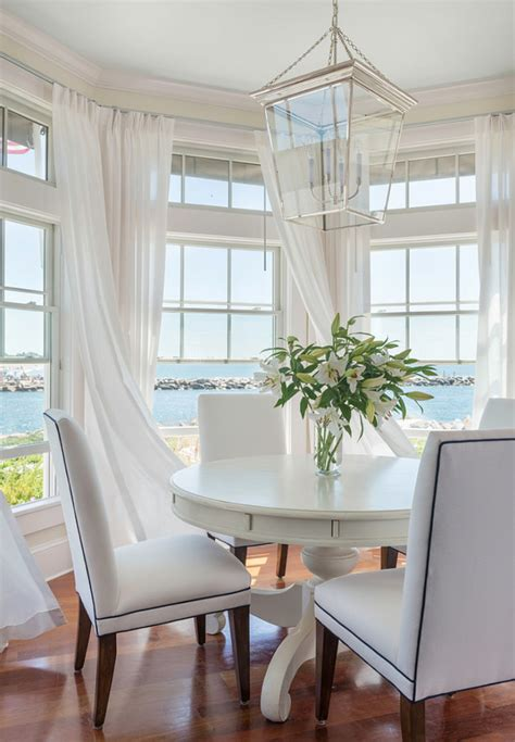 coastal kitchen curtains house with airy coastal interiors home bunch
