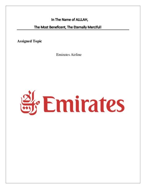 emirates meaning swot analysis marketing mix of emirates airline