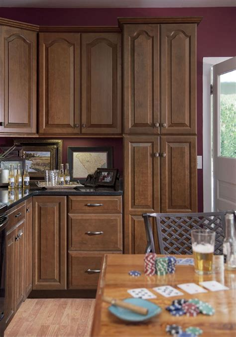 Waypoint Kitchen Cabinets Waypoint Living Spaces Style 621 In Cherry Spice Of The Home Living