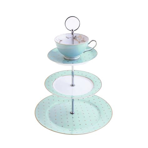Bedroom Door Knobs miss darcy 3 tier cake stand teacup and saucer mint and