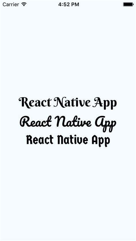 react native webview tutorial add custom external text fonts in react native app android