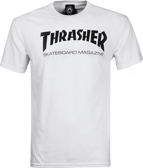 Thrasher White thrasher skate mag t shirt white free shipping