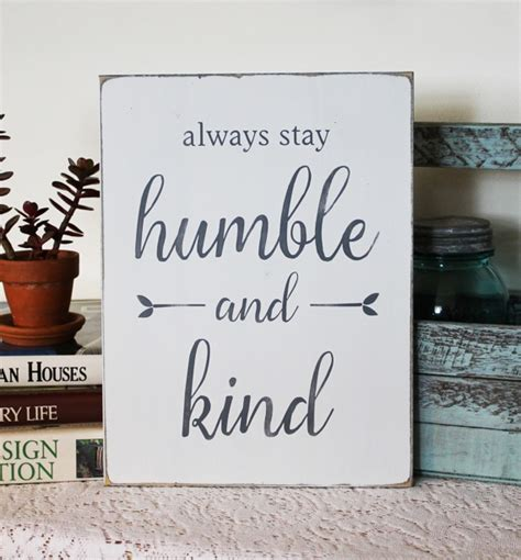 Western Home Decor Wholesale Always Stay Humble And Kind Wood Sign With Hand Painted