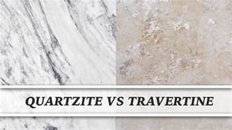 Travertine Vanity Top Vs Granite Quartzite Vs Travertine Countertop Comparison