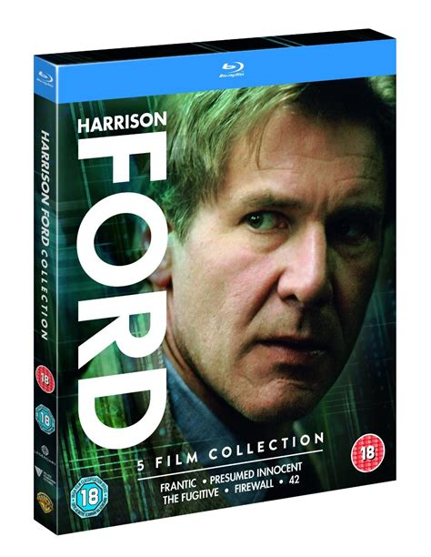 film blu ray harrison ford 5 film collection blu ray