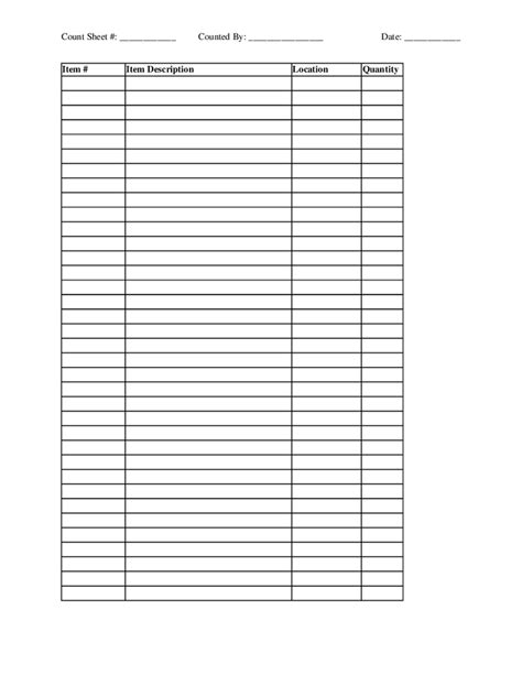 template for a 5 x 7 1 sheet note card inventory form template search results