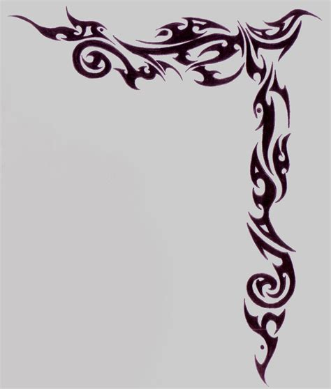 tattoo border designs awesome border designs pictures to pin on