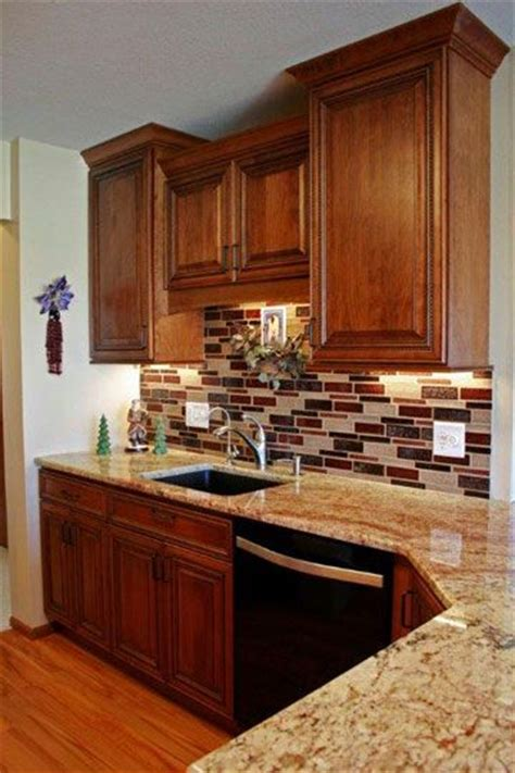 Chocolate Cherry Cabinets by 1000 Images About Kitchens Medium Brown On