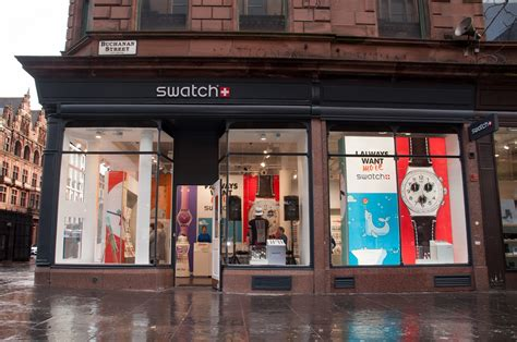 Design House Aberdeen Store by In Pictures See The Store Design Of Swatch S Second
