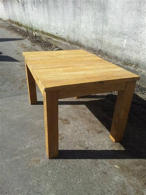 recycled pallet dining table recycled pallet wood dining table 99 pallets