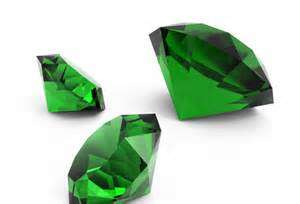 May s birthstone the emerald is a type of beryl colored green by