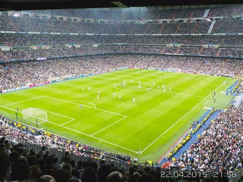 santiago bernabeu stadium home  real madrid spain