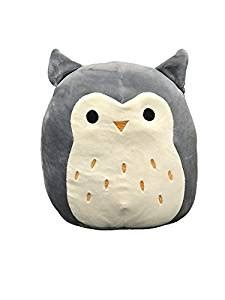 squishy squooshems squishmallows hoot 16 quot plush owl pillow squishy