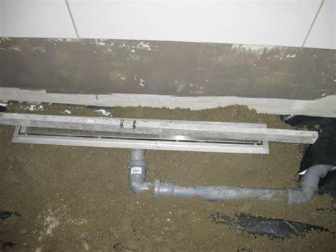 estrich duschbereich estrich f 252 r dusche und badewanne wir bauen dann mal ein haus