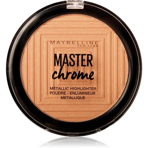 Maybelline Master Chrome maybelline master chrome highlighter notino co uk