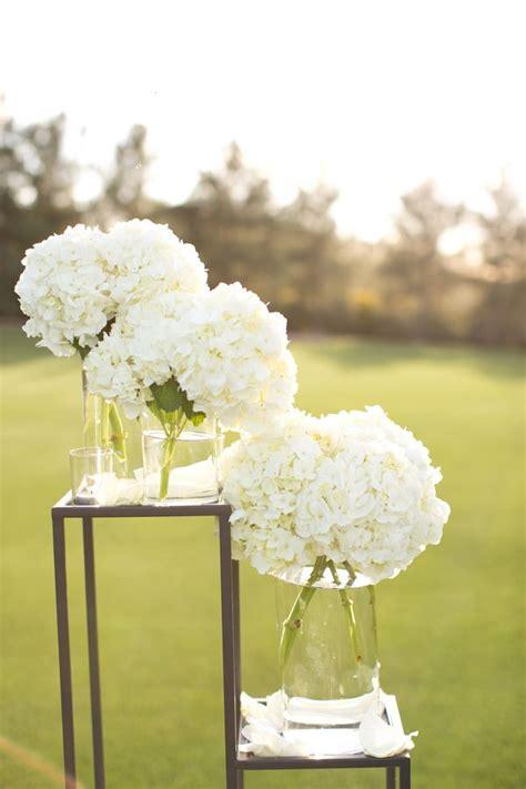 white hydrangea wedding decor san antonio flower and check