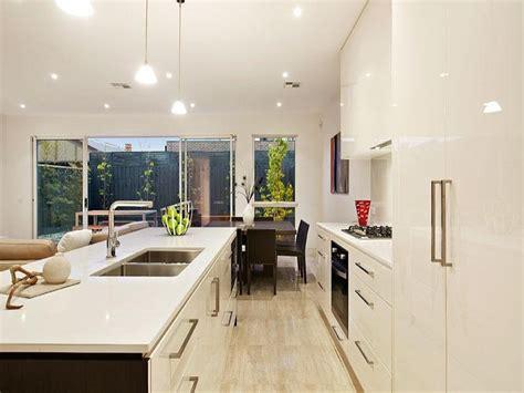 Kitchen Lighting Australia Pendant Lighting In A Kitchen Design From An Australian Home Kitchen Photo 613483