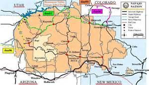 navajo reservation arizona map the tueshaus family usa 2002