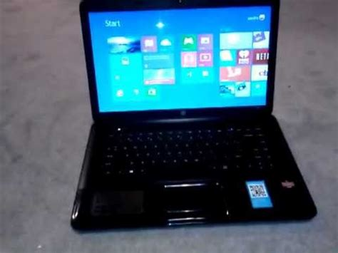 hp 2000 notebook pc review youtube