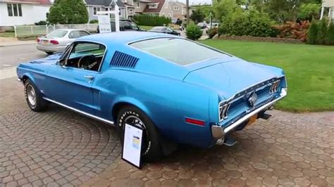 mustang gt fastback for sale sold 1968 ford mustang gt fastback for sale 428 scj 4