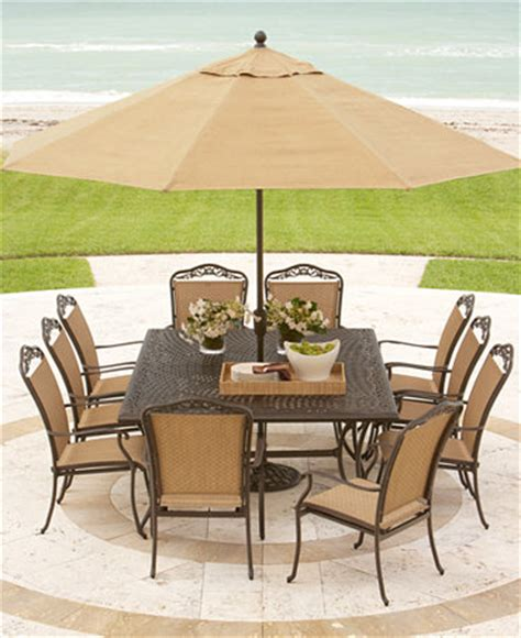 Macys Patio Dining Sets Beachmont Outdoor Patio Furniture Dining Sets Pieces Furniture Macy S