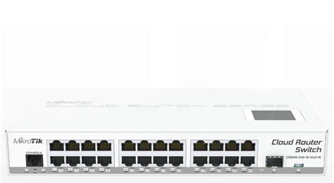Switch Mikrotik 24 Port mikrotik cloud router switch crs125 24g 1s in complete 1 sfp port plus 24 port 10 100 1000 layer