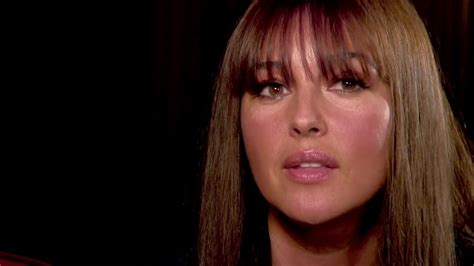 monica bellucci close up interview with monica bellucci quot close up quot 2013 youtube