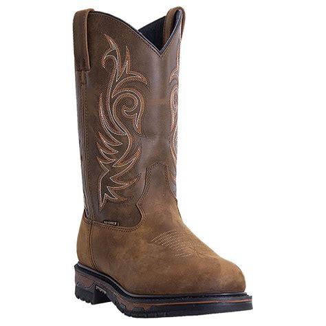 laredo boots s s laredo 11 quot sullivan waterproof steel toe western