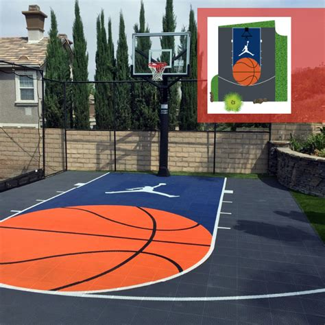 Design Your Own Court Design Backyard Basketball Court Home Basketball Court Design