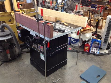 table saw leveling restoration powermatic 66 table saw page 4 router forums